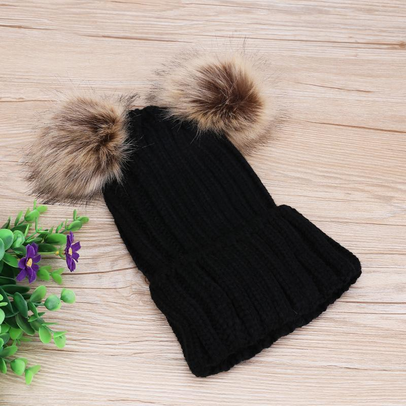 Fur Pompom Beanie - Bitsy Bug Boutique