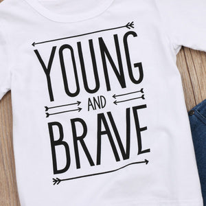 Young And Brave Outfit - Bitsy Bug Boutique