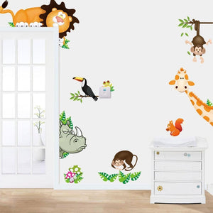 Jungle Animals Wall Stickers - Bitsy Bug Boutique
