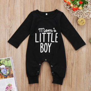 Mom's Little Boy Onesie - Bitsy Bug Boutique