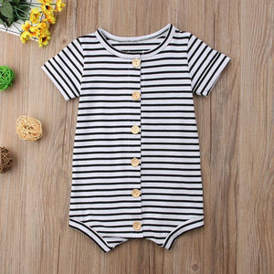 Striped Onesie - Bitsy Bug Boutique