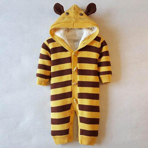 Knitted Mouse Sweater Romper (Multiple Colors) - Bitsy Bug Boutique