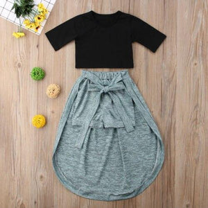 Athena Maxi Skirt Outfit - Bitsy Bug Boutique