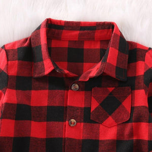 Plaid Lumber Shirt - Bitsy Bug Boutique