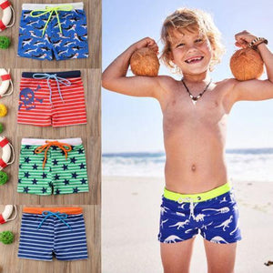 Multi Pattern Swim Trunks - Bitsy Bug Boutique