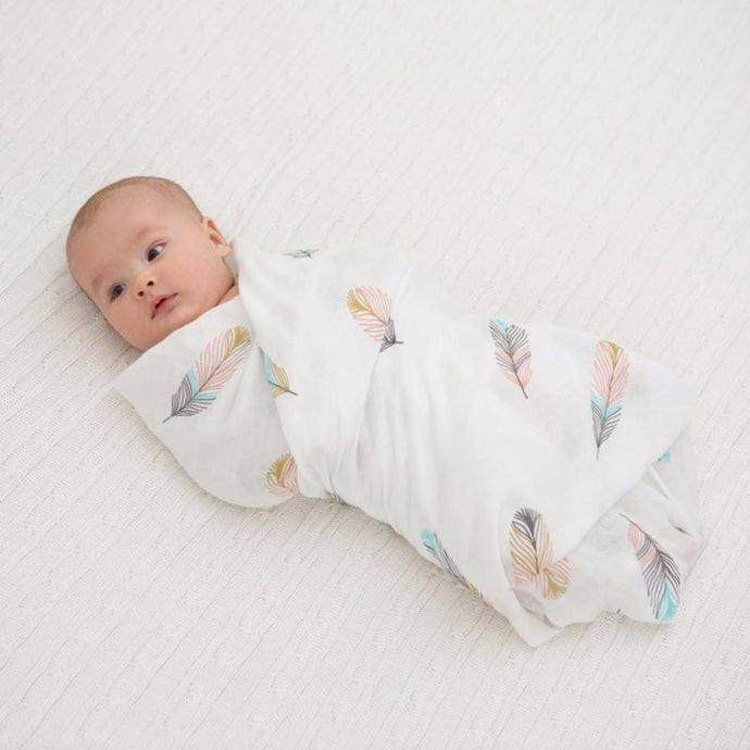 Feather Soft | Muslin Swaddle Baby Blanket