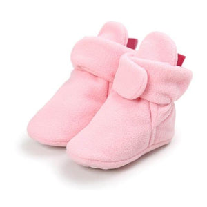 Fleece Booties (Multiple Colors) - Bitsy Bug Boutique
