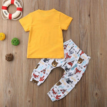 Happy Camper T-Shirt Animal Pants Outfit
