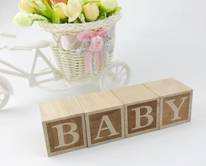 Wooden BABY Blocks - Bitsy Bug Boutique