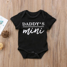 Daddys Mommys Mini Onesie - Bitsy Bug Boutique