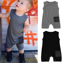 Sleeveless Romper - Bitsy Bug Boutique