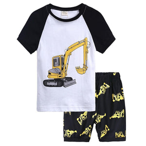 Digger T-Shirt Pants Outfit - Bitsy Bug Boutique