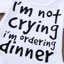 I'm Not Crying I'm Ordering Dinner Onesie - Bitsy Bug Boutique
