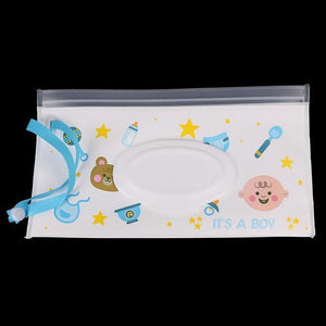 Easy Carry Case Wet Wipes 1Pcs 18 Baby Accessories