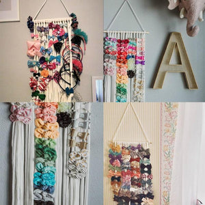 Hanging Hair Accessory Organizer Baby Accessories