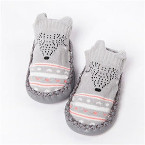 Animal Anti Slip Socks - Bitsy Bug Boutique