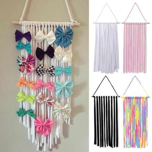 Hanging Hair Accessory Organizer