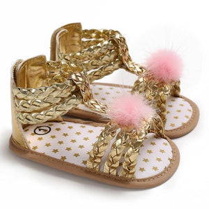 Betsey Braided Sandals - Bitsy Bug Boutique