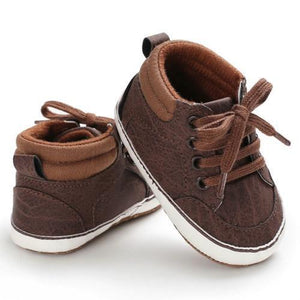 Cade Sneakers (Multiple Colors) Brown / 0-6 Mo Shoes