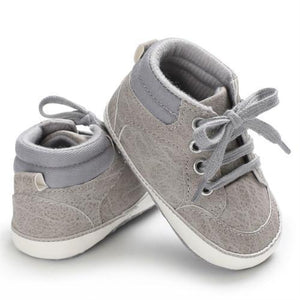 Cade Sneakers (Multiple Colors) Gray / 0-6 Mo Shoes