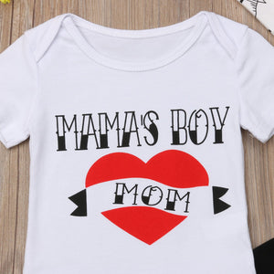 Mama's Boy Outfit - Bitsy Bug Boutique