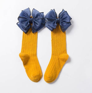 Big Bow Socks - Bitsy Bug Boutique