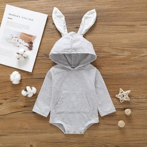 Bunny Ear Romper (2 Colors)