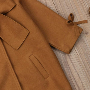 Bow Knot Coat Outerwear