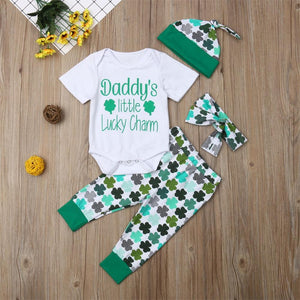 Daddy's Little Lucky Charm Outfit
