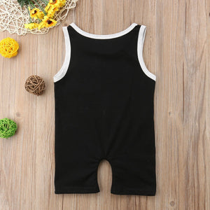 Sleeveless Pocket Romper (2 Colors) - Bitsy Bug Boutique