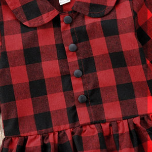 Plaid Romper - Bitsy Bug Boutique