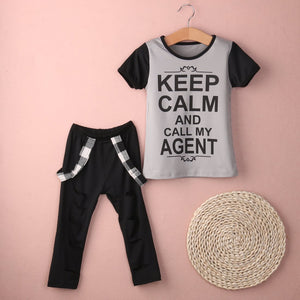 Keep Calm Call My Agent Outfit - Bitsy Bug Boutique