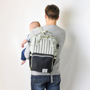 DIAPER-N-GO™ PREMIUM - THE ULTIMATE COMBO MOMMY BACKPACK BAG - Bitsy Bug Boutique