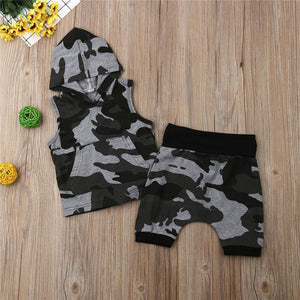 Mr. Cool Camo Outfit - Bitsy Bug Boutique
