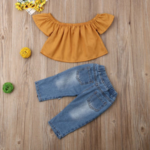 Vanna Sunflower Outfit - Bitsy Bug Boutique