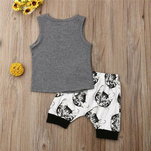 I Love Cats Outfit - Bitsy Bug Boutique