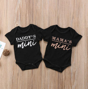 Daddy's or Mama's Mini Onesie