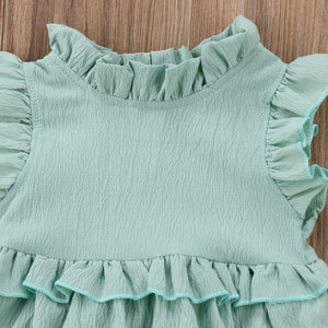 Ruffle Romper (Multiple Colors)
