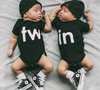 Twin Onesies - Bitsy Bug Boutique