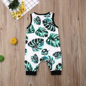 Jungle Leaf Onesie