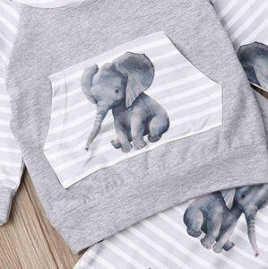 Elephant Print Outfit