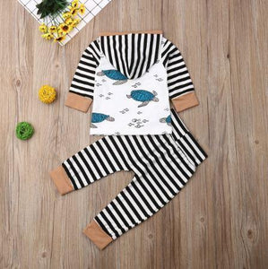 Striped Turtle Outfit