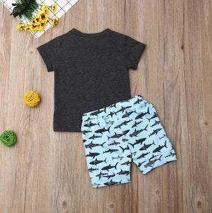 Shark T-Shirt with Shorts