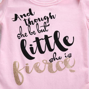 Little But Fierce Onesie