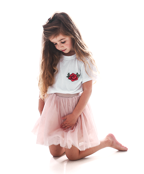 Rose T-Shirt For Kids