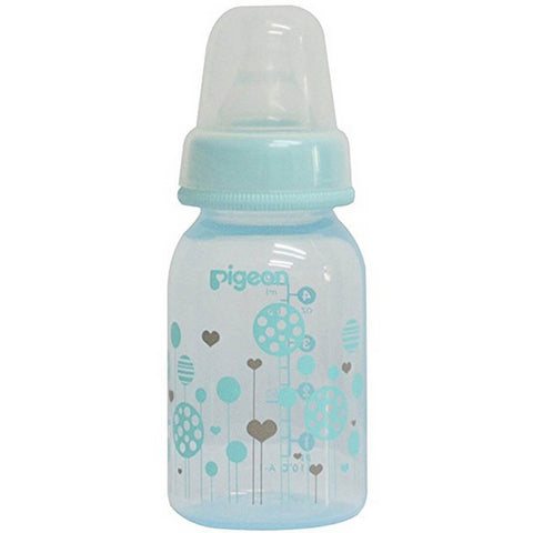 PERISTALTIC CLEAR NURSING BOTTLE RPP 120ML & 240ml (BLUE) ABSTRACT