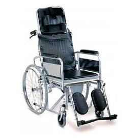 RAINBOW 8 COMMODE WHEEL CHAIR - QMS Surgicals
