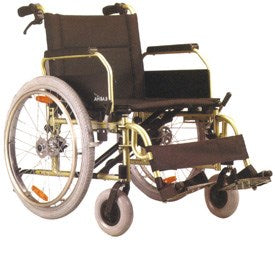 KM-8020X WHEEL CHAIR - QMS Surgicals