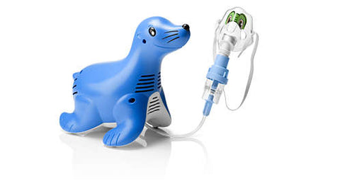 Philips Sami the Seal Compressor nebulizer system - QMS Surgicals