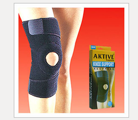 505 neoprene open patella knee support - QMS Surgicals